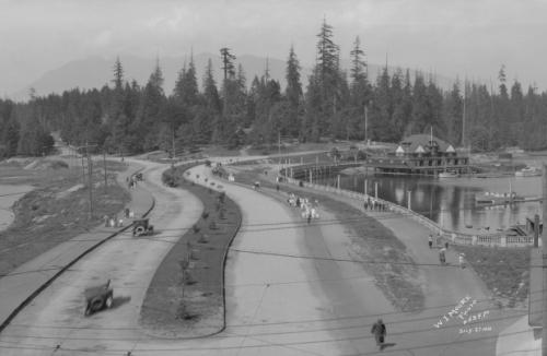 1921 Stanley Park Entrance.